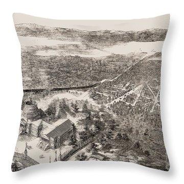Washington, D.c., 1861 Throw Pillow by Granger