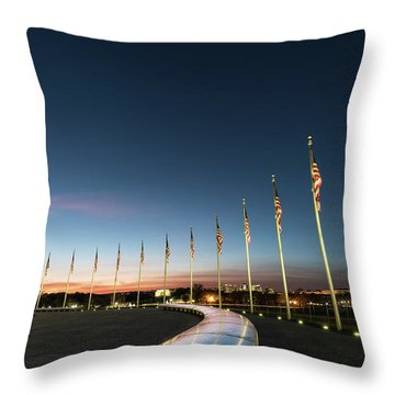 District Throw Pillows