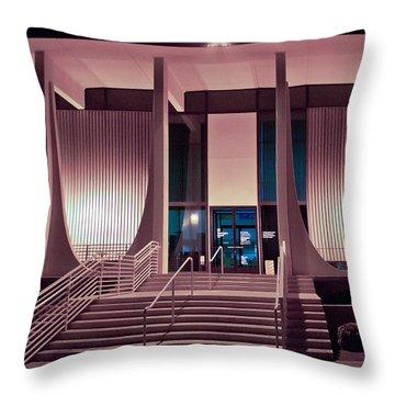 Washington Mutual Bank Building  Throw Pillow