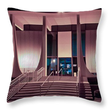 Washington Mutual Bank Building  Throw Pillow by Matthew Bamberg