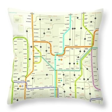 Washington State Throw Pillows