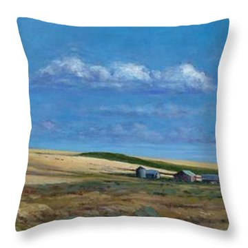 Washington Wheatland Classic Throw Pillow