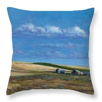 Washington Wheatland Classic Throw Pillow