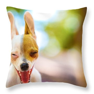 Wassup? Throw Pillow