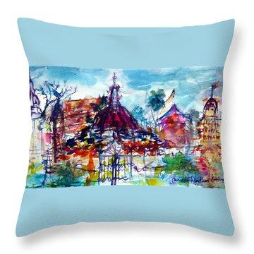 Wat Chimphli Sutthawat Throw Pillow