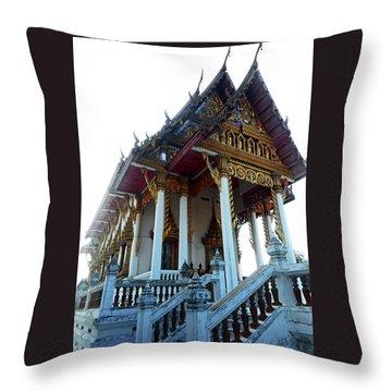 Wat Sawangfa 11 Throw Pillow