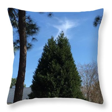 Watch And Listen To The Birds Throw Pillow