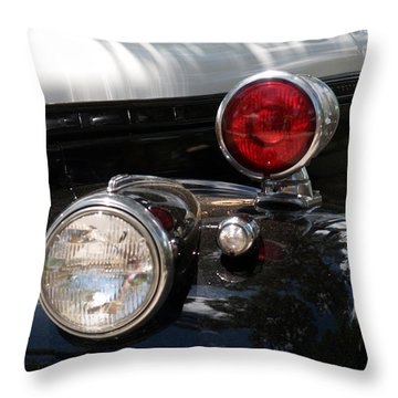 Watch For The Red Light Throw Pillow