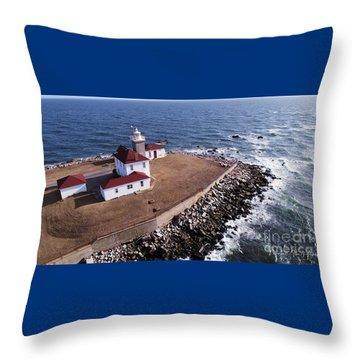 Watch Hill Lighhouse Throw Pillow