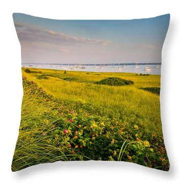 Watch Hill Sunrise Throw Pillow by Susan Cole Kelly