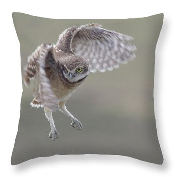 Watch Me Now. Throw Pillow