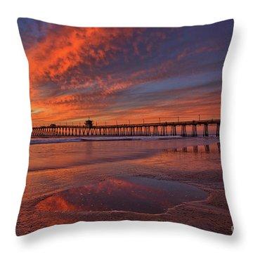 Watch More Sunsets Than Netflix Throw Pillow