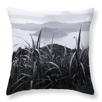 Watch Over Throw Pillow by Jez C Self