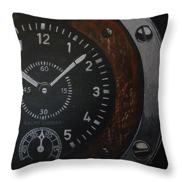 Watch Throw Pillow