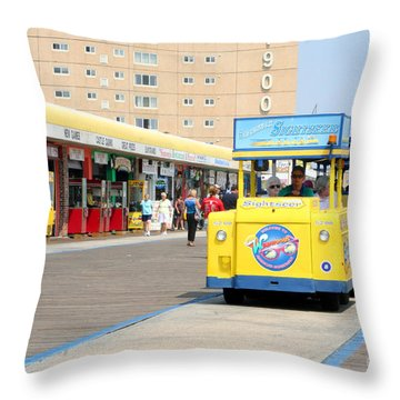 Watch The Tram Car Please Throw Pillow