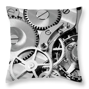 Watch Works Throw Pillow