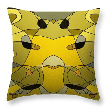 Watchers Throw Pillow
