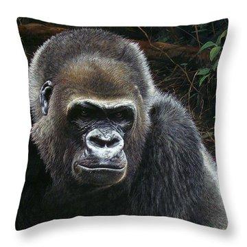 Watchful Domain Throw Pillow