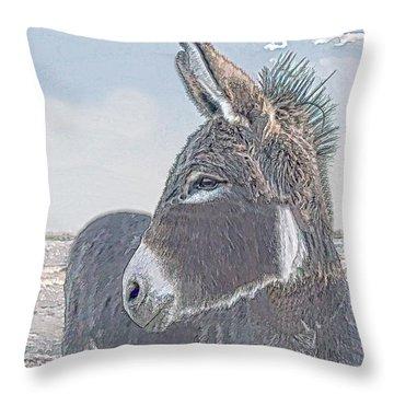 Watchful Gaze Throw Pillow