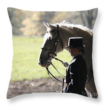 Throw Pillow featuring the photograph Watching by Carol Lynn Coronios