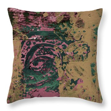 Watching Throw Pillow by Wayne Potrafka