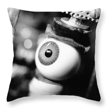 Watching You Throw Pillow by Jeffery Ball