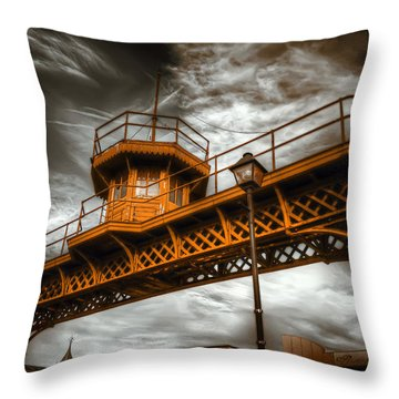 All Along The Watchtower Throw Pillow