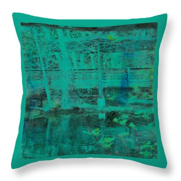 Water #10 Throw Pillow