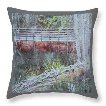 Water #5 Throw Pillow