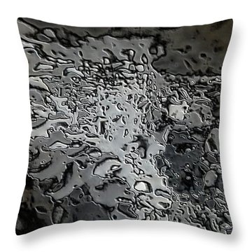 Water Abstract 7 Throw Pillow