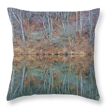 Water And Lace Throw Pillow by Christian Mattison