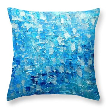 Water And Light 2016 Throw Pillow
