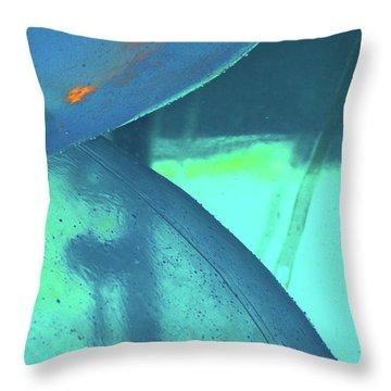 Water Ball Throw Pillow