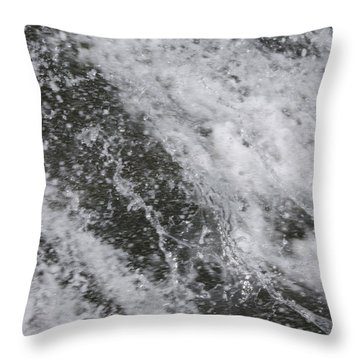Water Bed Throw Pillow