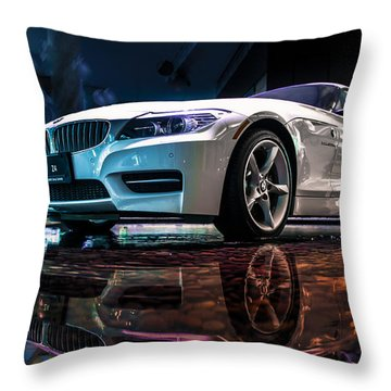 Water Borne Throw Pillow