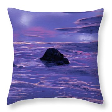 Water By Jenny Potter Throw Pillow