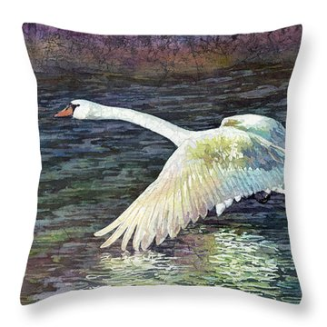 Water Dancer Throw Pillow
