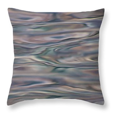 Throw Pillow featuring the photograph Water Dream - Abstract by Britt Runyon