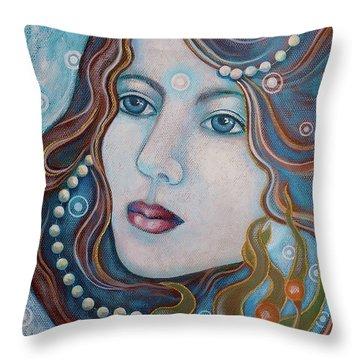 Water Dreamer Throw Pillow