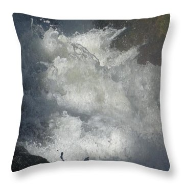 Water Fury 3 Throw Pillow