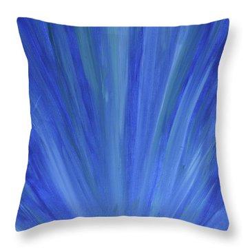 Water Light Throw Pillow
