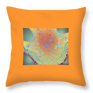 Water Lily Homage Throw Pillow