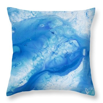 Water Miracles #1 Throw Pillow by Jacqueline Martin