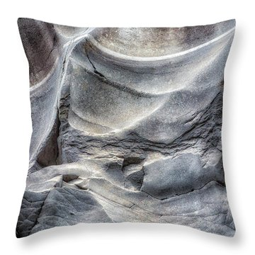 Water Sculpting Rock Art By Kaylyn Franks  Throw Pillow