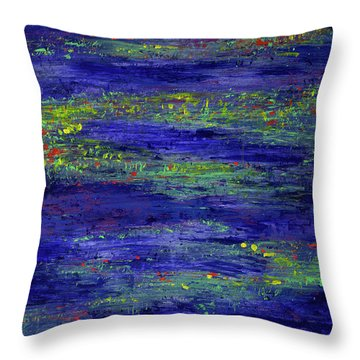 Water Serenity Throw Pillow