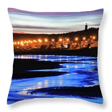 Throw Pillow featuring the photograph Water Snake by Bernardo Galmarini