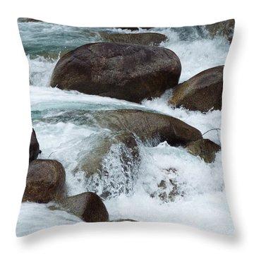 Water Spirits I Throw Pillow