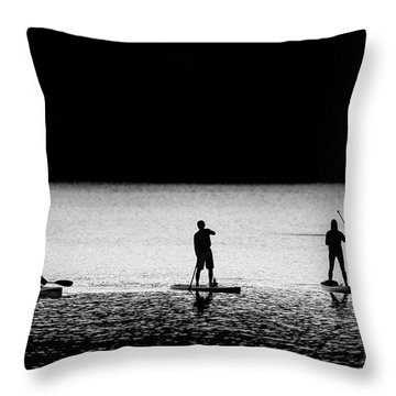 Water Sports Throw Pillow
