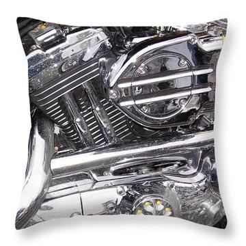 Throw Pillow featuring the photograph Water Spots by John Schneider