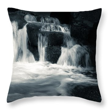 Water Stair Throw Pillow